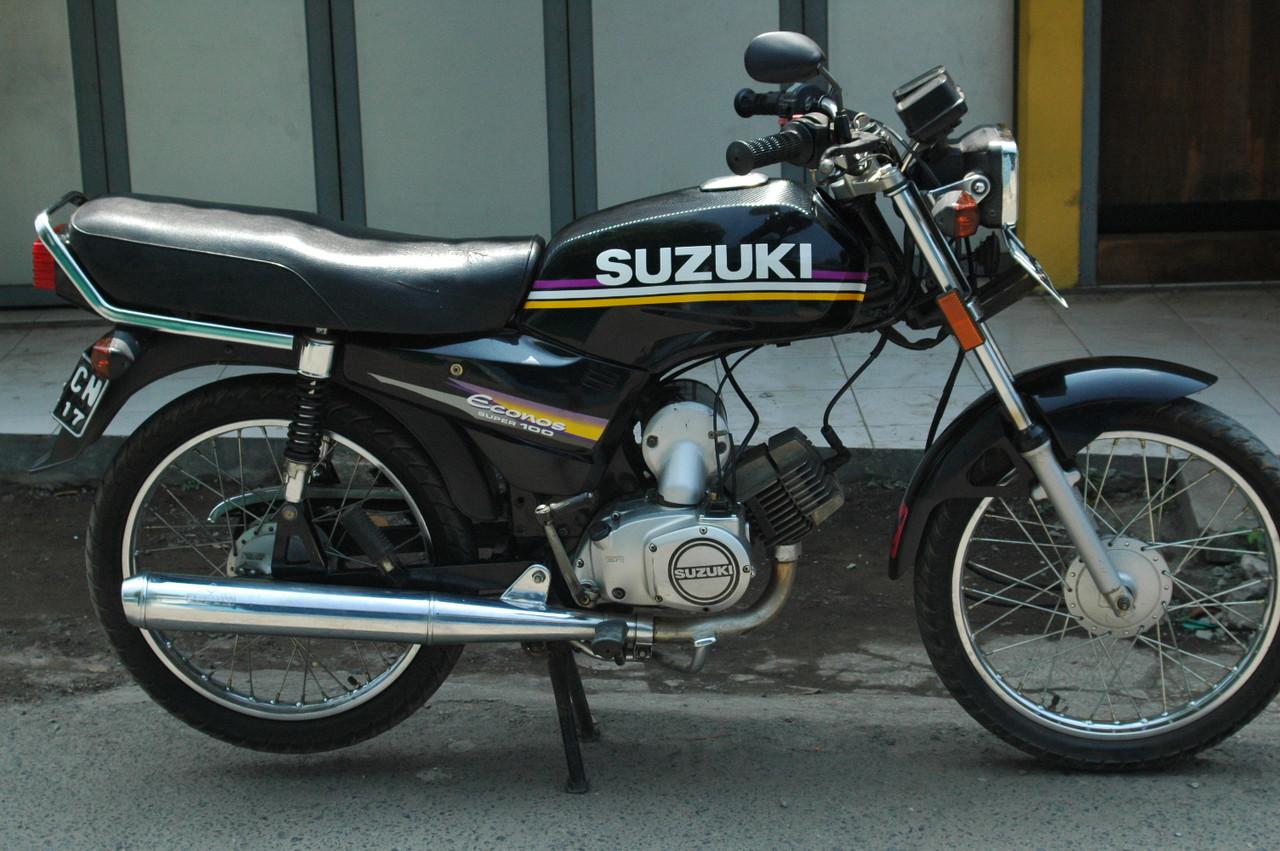 80 Foto Modifikasi Motor Suzuki A100 Terbaik Kempoul Motor